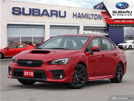 2018 Subaru WRX Sport-tech (Stk: U1694) in Hamilton - Image 1 of 28