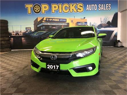 2017 Honda Civic Touring (Stk: 450539) in NORTH BAY - Image 1 of 29
