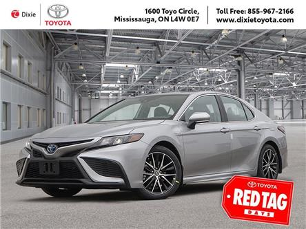2021 Toyota Camry Hybrid SE (Stk: D211325) in Mississauga - Image 1 of 23