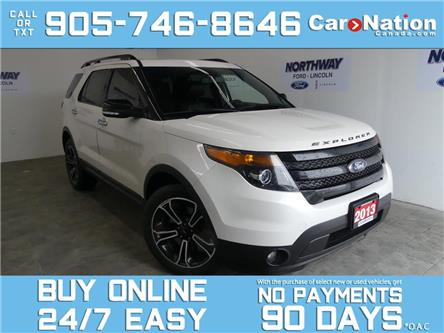 2013 Ford Explorer SPORT   4X4  ROOF   LEATHER   NAV  ADAPTIVE CRUISE (Stk: P6989) in Brantford - Image 1 of 28