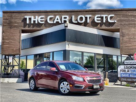 2016 Chevrolet Cruze Limited 1LT (Stk: 20590-1) in Sudbury - Image 1 of 23
