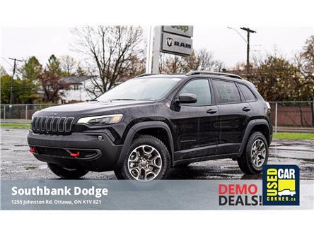 2021 Jeep Cherokee Trailhawk (Stk: 210043) in OTTAWA - Image 1 of 24