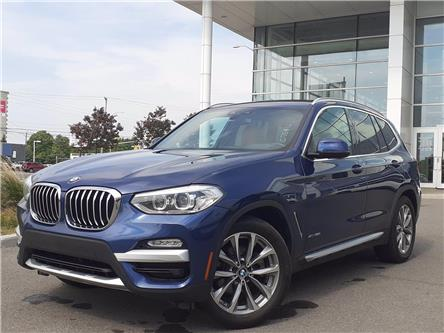 2018 BMW X3 xDrive30i (Stk: P9877) in Gloucester - Image 1 of 14