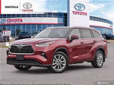 2021 Toyota Highlander Hybrid Limited (Stk: 21572) in Oakville - Image 1 of 23