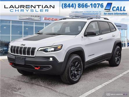 2020 Jeep Cherokee Trailhawk (Stk: 20123D) in Greater Sudbury - Image 1 of 30