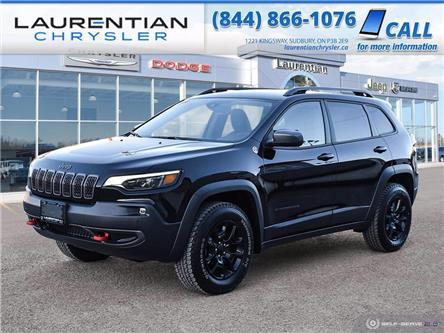 2021 Jeep Cherokee Trailhawk (Stk: 21006D) in Greater Sudbury - Image 1 of 30