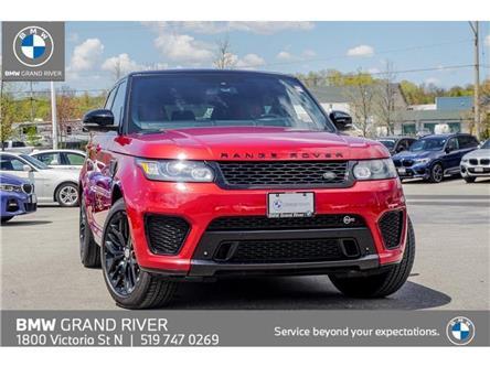 2015 Land Rover Range Rover Sport V8 Supercharged (Stk: T7221A) in Kitchener - Image 1 of 28