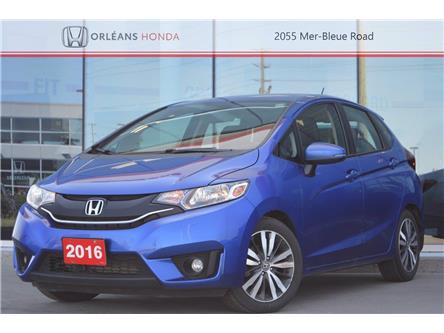 2016 Honda Fit EX-L Navi (Stk: 16-210211A) in Orléans - Image 1 of 28