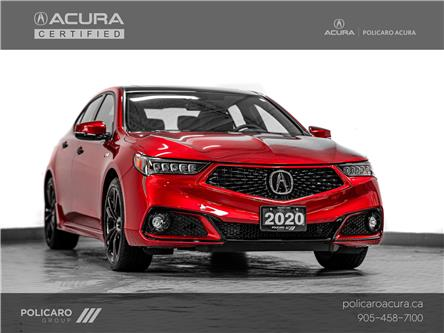 2020 Acura TLX Tech A-Spec PMC Edition (Stk: 800007P) in Brampton - Image 1 of 30