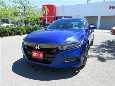 2019 Honda Accord Sport 1.5T (Stk: VA4211) in Ottawa - Image 1 of 19