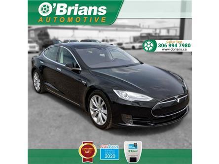 2016 Tesla Model S 70 w/Autopilot (Autosteer/Summon), Heated Seats, B (Stk: 14424A) in Saskatoon - Image 1 of 26