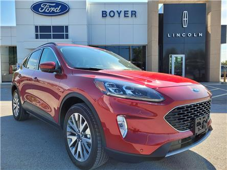 2021 Ford Escape Titanium Hybrid (Stk: ES3219) in Bobcaygeon - Image 1 of 28