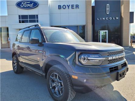 2021 Ford Bronco Sport Badlands (Stk: B3221) in Bobcaygeon - Image 1 of 30