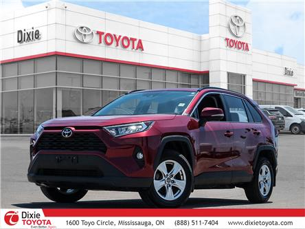 2020 Toyota RAV4 XLE (Stk: D211189A) in Mississauga - Image 1 of 30