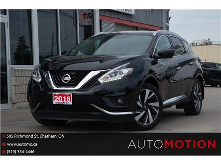 2016 Nissan Murano  (Stk: 21853) in Chatham - Image 1 of 28