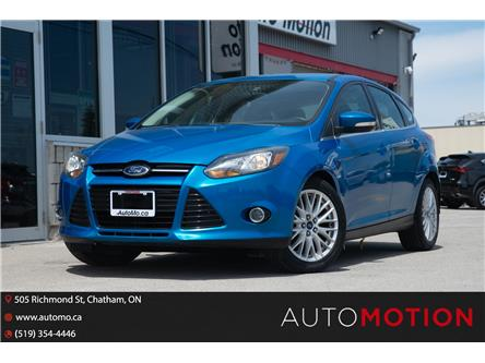 2013 Ford Focus Titanium (Stk: 21922) in Chatham - Image 1 of 22