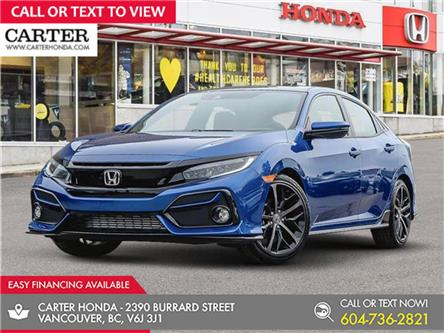 2021 Honda Civic Sport (Stk: 9M06170) in Vancouver - Image 1 of 24