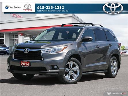2014 Toyota Highlander Limited (Stk: 60493A) in Ottawa - Image 1 of 30