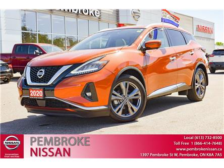 2020 Nissan Murano Platinum (Stk: P218) in Pembroke - Image 1 of 30