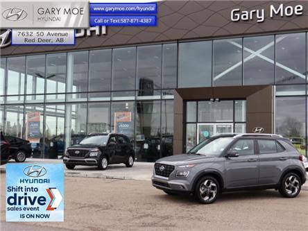 2021 Hyundai Venue Trend w/Urban PKG - Black Interior (IVT) (Stk: 1VN1838) in Red Deer - Image 1 of 11