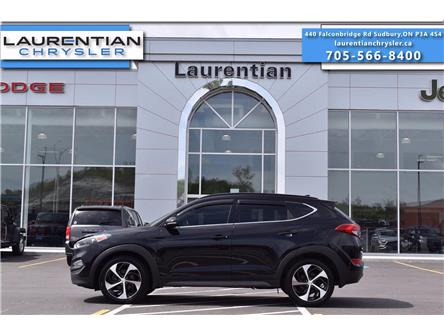2016 Hyundai Tucson Limited (Stk: 21260A) in Greater Sudbury - Image 1 of 31