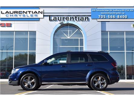 2017 Dodge Journey Crossroad (Stk: 21164A) in Greater Sudbury - Image 1 of 34
