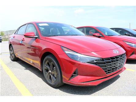 2021 Hyundai Elantra Preferred w/Sun & Tech Pkg (Stk: 12766) in Saint John - Image 1 of 4