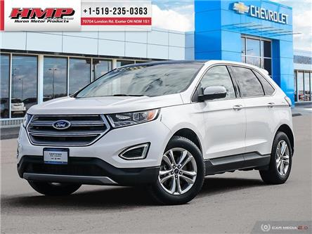 2017 Ford Edge SEL (Stk: 90742) in Exeter - Image 1 of 27