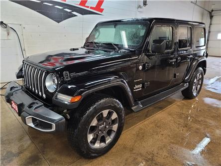 2018 Jeep Wrangler Unlimited Sahara (Stk: 532092A) in Orillia - Image 1 of 26