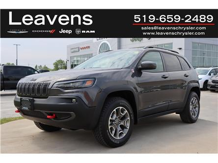 2021 Jeep Cherokee Trailhawk (Stk: LC21186) in London - Image 1 of 21