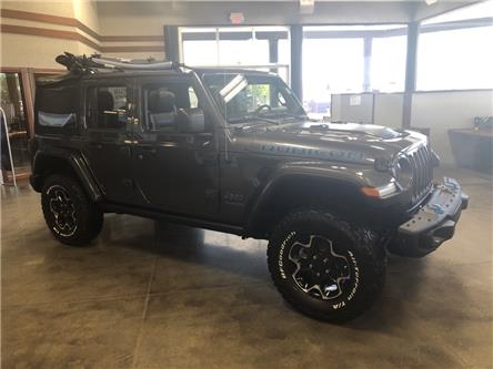 2021 Jeep Wrangler Unlimited 4xe Rubicon (Stk: 5M136) in Medicine Hat - Image 1 of 18