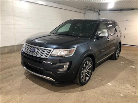 2017 Ford Explorer Platinum (Stk: 2135051) in Regina - Image 1 of 35