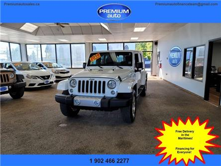 2018 Jeep Wrangler JK Unlimited Sahara (Stk: 844730) in Dartmouth - Image 1 of 21