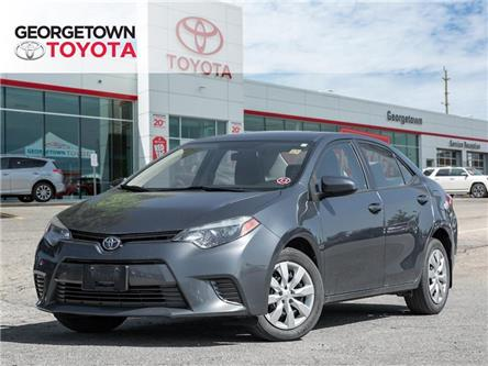 2016 Toyota Corolla LE (Stk: 16-16199GT) in Georgetown - Image 1 of 18