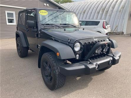 2016 Jeep Wrangler Sport (Stk: ) in Sussex - Image 1 of 19