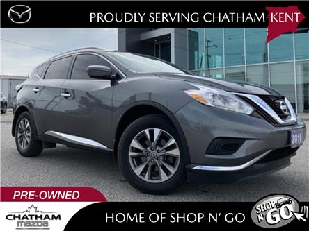 2016 Nissan Murano S (Stk: UM2628) in Chatham - Image 1 of 26