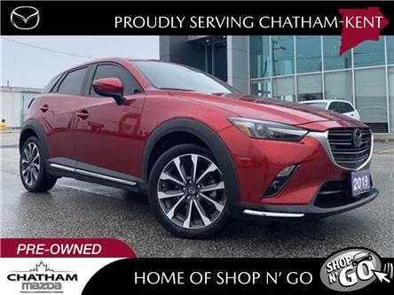 2019 Mazda CX-3 GT (Stk: UM2632) in Chatham - Image 1 of 26