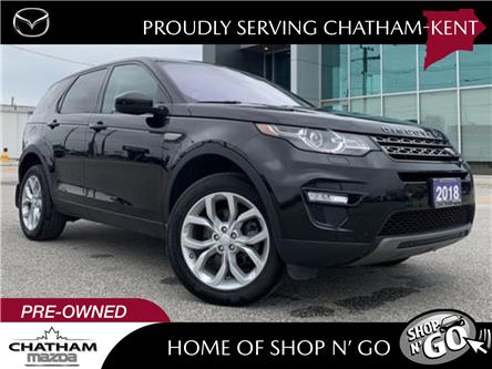 2018 Land Rover Discovery Sport SE (Stk: NM3501AA) in Chatham - Image 1 of 26