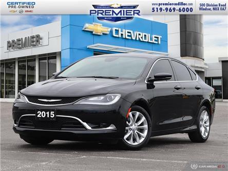 2015 Chrysler 200 C (Stk: 210087B) in Windsor - Image 1 of 27