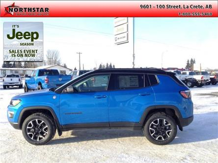 2021 Jeep Compass Trailhawk (Stk: UT006) in  - Image 1 of 12