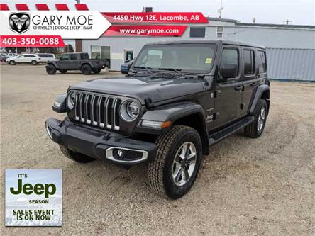 2021 Jeep Wrangler Unlimited Sahara (Stk: F212527) in Lacombe - Image 1 of 17