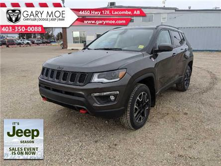 2021 Jeep Compass Trailhawk (Stk: F212539) in Lacombe - Image 1 of 19