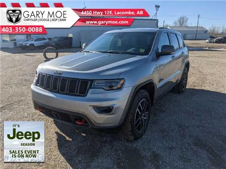 2021 Jeep Grand Cherokee Trailhawk (Stk: F212631) in Lacombe - Image 1 of 18