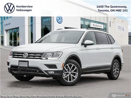 2021 Volkswagen Tiguan Comfortline (Stk: 98688) in Toronto - Image 1 of 23