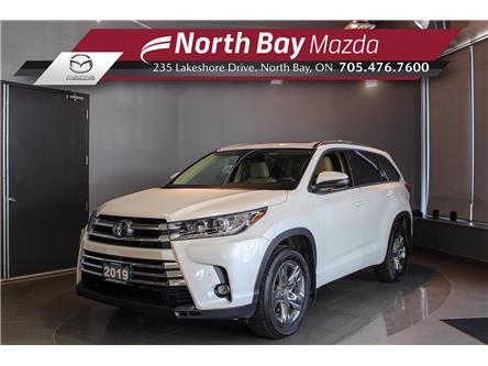 2019 Toyota Highlander Limited (Stk: 21185A) in North Bay - Image 1 of 33