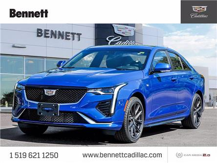 2021 Cadillac CT4 Sport (Stk: 210268) in Cambridge - Image 1 of 26