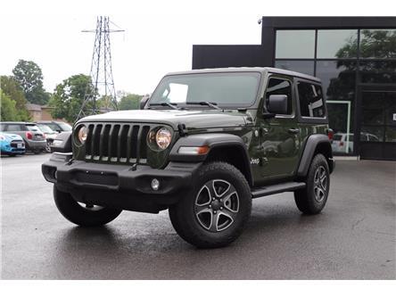 2021 Jeep Wrangler Sport (Stk: 4138A) in Ottawa - Image 1 of 20