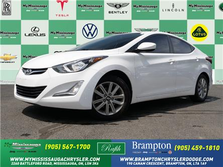 2016 Hyundai Elantra Sport Appearance (Stk: 1497A) in Mississauga - Image 1 of 22