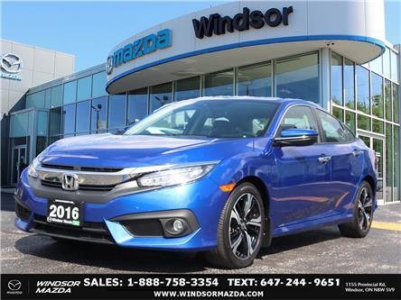 2016 Honda Civic Touring (Stk: PR15100) in Windsor - Image 1 of 26