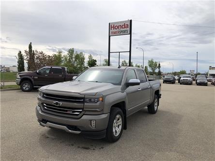 2017 Chevrolet Silverado 1500 2LZ (Stk: P21-068) in Grande Prairie - Image 1 of 21